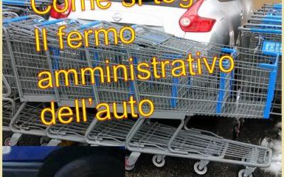 Come si toglie il fermo amministrativo sull'auto