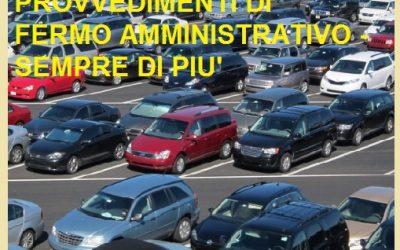 Auto usate con fermo amministrativo sempre di più