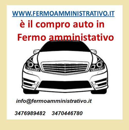 Acquistiamo auto in fermo amministrativo per esportazione