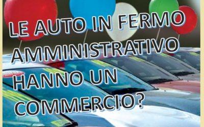 I veicoli in fermo amministrativo hanno un commercio